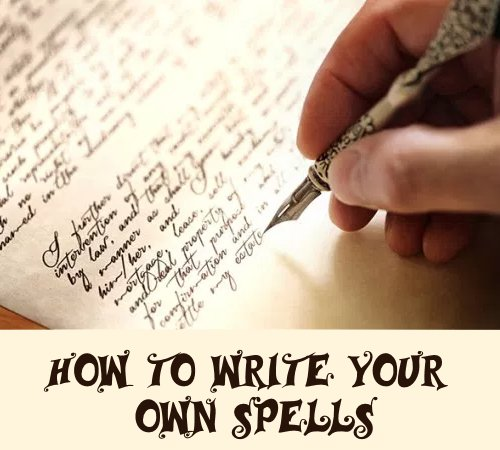 Instructions to Make Spells