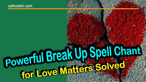 Break up spells that work instantly 7